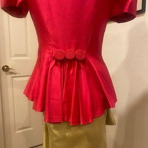 Vintage pink fancy jacket blazer